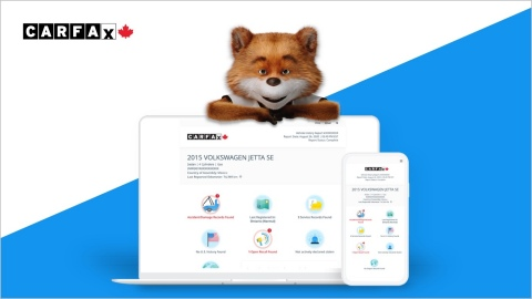 Now easier-to-understand, CARFAX Canada Vehicle History Reports help millions of Canadians buy and sell used vehicles with greater confidence. (Photo: Business Wire)