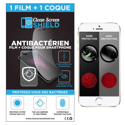 Aeriashield, coque antibactérienne pour smartphones iPhone et Samsung (Photo: Business Wire)