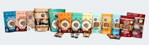 Coconut Cloud's full line of dairy free, vegan beverage mixes, including their 6 new debut items. (Photo: Business Wire)