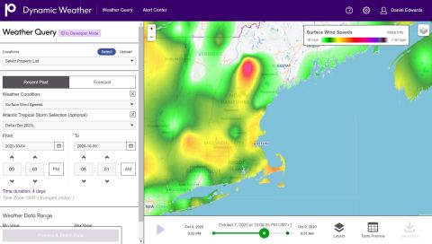 Visualize Data on a Map with Precisely's Dynamic Weather Tool (Photo: Business Wire)