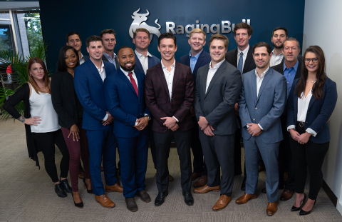 Some of RagingBull's Maryland team at their offices recently. (Photo: Business Wire)