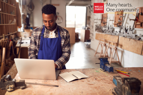 "As part of Wells Fargo's ""Many hearts. One community."" campaign, Wells Fargo will deploy approximately $50 million through its Open for Business Fund to nonprofits that help small businesses stay open and to provide relief for small businesses during the holidays. (Photo: Wells Fargo)"