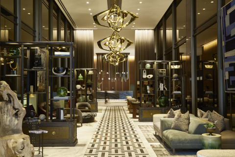 The lobby of the new Thompson Dallas (Photo: Business Wire)