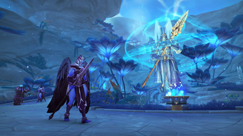 The otherworldly realm of Bastion, home of the Kyrian Covenant, in World of Warcraft: Shadowlands (Graphic: Business Wire)