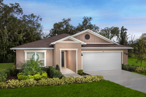 KB Home announces the grand opening of Meadows at Scott Lake Creek, its latest new-home community in Lakeland, Florida. (Photo: Business Wire)