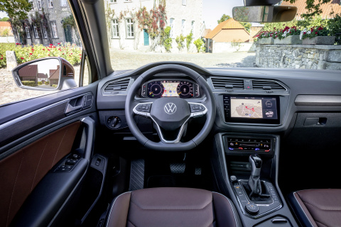 Volkswagen Tiguan R-Line (Image Source: Volkswagen AG). With its Stratasys J850 3D printers, the Volkswagen Pre-Series-Center is able to print ultra-realistic prototypes for interior vehicle applications. (Photo: Business Wire)