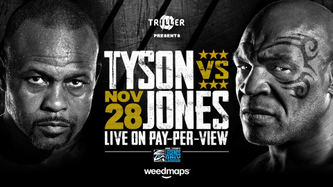 WEEDMAPS ANNOUNCES PARTNERSHIP WITH TRILLER AS OFFICIAL SPONSOR FOR MIKE TYSON'S RETURN TO THE RING (Graphic: Business Wire)