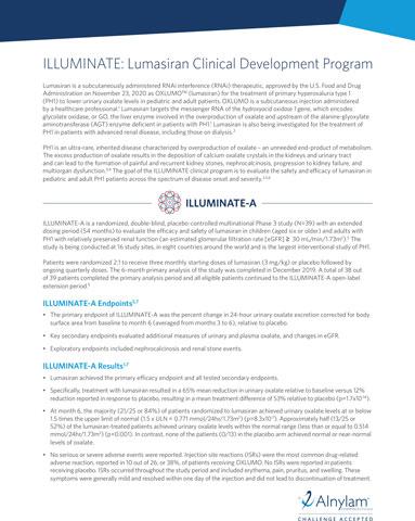 ILLUMINATE Clinical Development Program fact sheet (Graphic: Business Wire)
