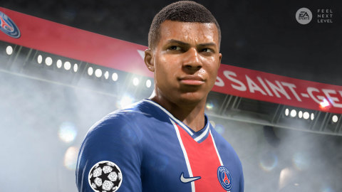 Buy and Play FIFA 21 on PlayStation®4 or Xbox One and Get the PlayStation®5 or Xbox Series X|S Version for Free* at Launch on December 4 (Graphic: Business Wire)