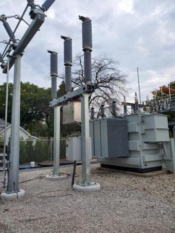 The Blue Clean Air Circuit Switcher is the first in the U.S. to provide reliable short-circuit interruption without emitting harmful gases into the atmosphere. (Photo: Business Wire)