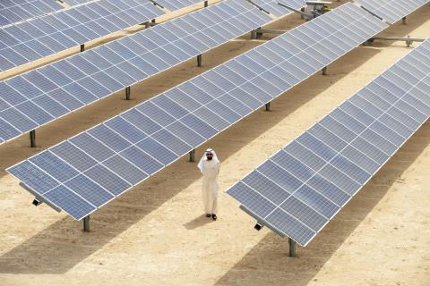 DEWA Innovation Centre and 800MW 3rd phase of the Mohammed bin Rashid Al Maktoum Solar Park inaugurated (Photo: AETOSWire)