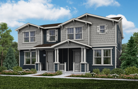 KB Home announces the grand opening of Trails at Crowfoot Villas in Parker, Colorado, priced from the $420,000s. (Photo: Business Wire)