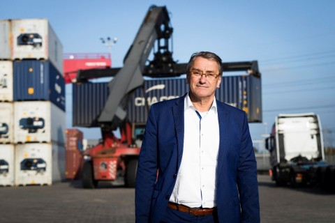 Roland Verbraak, general manager of GVT Group of Logistics (Photo: Business Wire)