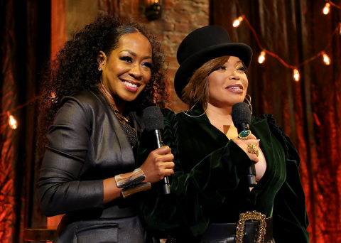 Tichina Arnold and Tisha Campbell Host The 2020 Soul Train Awards on BET (Photo: Business Wire)