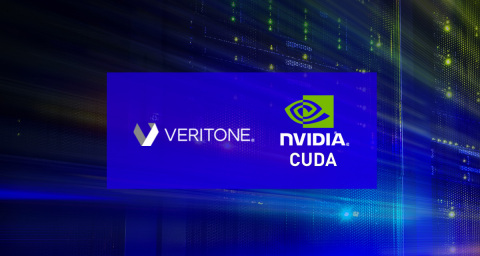 A new innovation from Veritone aiWARE and NVIDIA CUDA enables organizations to significantly accelerate actionable insight from video, audio and text-based data sources. (Graphic: Business Wire)