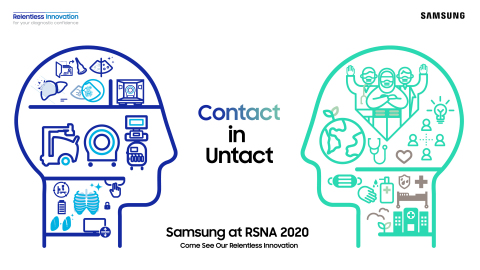 Samsung at RSNA 2020: Contact in the Untact (Graphic: Business Wire)