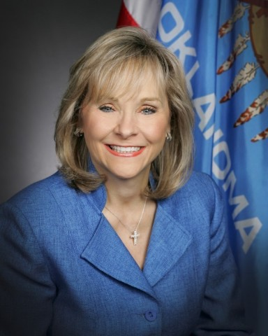 Governor Mary Fallin-Christensen of Oklahoma
