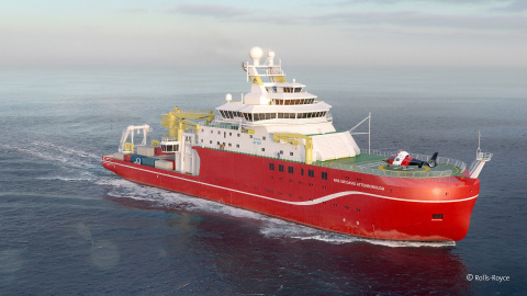 SRO Solutions replaced the British Antarctic Survey's (BAS) current asset management system with IBM Maximo for their entire existing polar fleet of aircraft and ships, as well as implementing Maximo on the new Antarctic flagship RRS Sir David Attenborough. Image courtesy: SRO Solutions