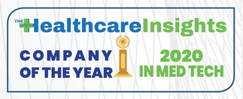 Healthcare Company of the Year 2020 (Graphic: Business Wire)
