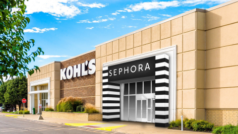 Sephora at Kohl's Exterior Rendering (Photo: Business Wire)