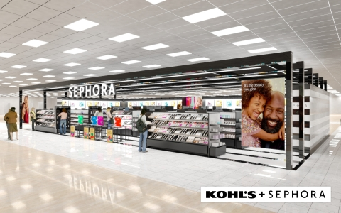 Sephora at Kohl's Interior Rendering (Photo: Business Wire)