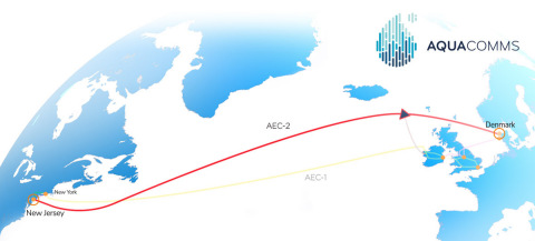 AEC-2, the North Atlantic Loop, is now live (Graphic: Business Wire)