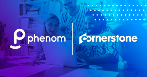 Phenom announces its completion of the Cornerstone Integration Certification. (Graphic: Business Wire)