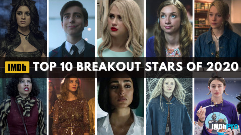 IMDb Top Breakout Stars of 2020, as determined by page views. IMDb is the #1 movie website in the world. (Photo courtesy of IMDb)