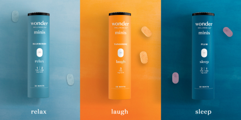 Cresco Labs launches newest brand, Wonder Wellness Co., in Illinois with Wonder Minis, a line of 3 mg hard sweets. (Photo: Business Wire)