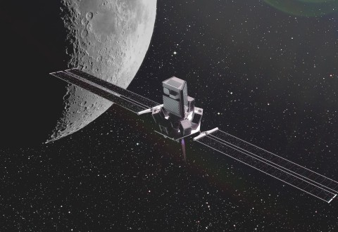Momentus' Ardoride, which has an anticipated payload capability of 500-4,000kg, 5km/s of delta-V, and capabilities within MEO, GEO, and HEO. (Photo: Business Wire)