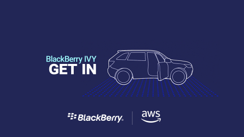 BlackBerry IVY will help automakers create personalized driver and passenger experiences and improve operations of cloud-connected vehicles with new BlackBerry QNX and AWS technology. (Graphic: Business Wire)