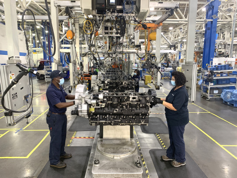 PACCAR Engine Factory in Columbus, Mississippi (Foto: Bedrijfsdraad)