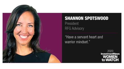Shannon Spotswood, President of RFG Advisory (Graphic: Business Wire)