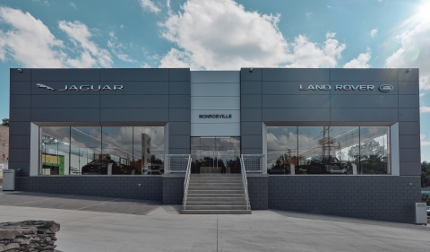 Monroeville luxury dealership unveils a brand new Jaguar and Land Rover showroom featuring cutting-edge technology and an impressive open floor plan. (Photo: Business Wire)
