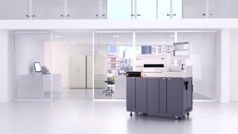 Fujirebio's fully automated LUMIPULSE® G1200 system will analyze its expected in vitro diagnostic test for Alzheimer's disease. (Photo: Business Wire)