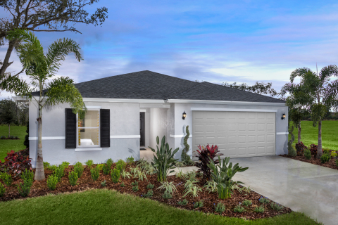 KB Home announces the grand opening of Mirror Lake, a new-home community in Seffner, Florida, priced from the $260,000s. (Photo: Business Wire)