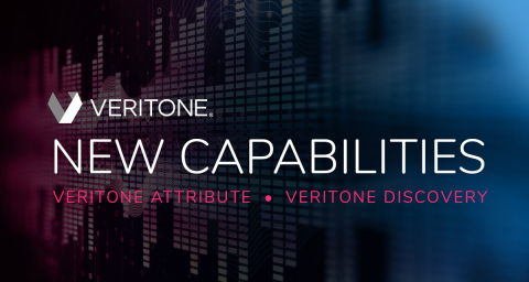 New capabilities to Veritone Discovery and Attribute further expand advanced media search functionalities, advertising performance reporting and visualization, arming broadcasters with new tools to help drive revenue. (Graphic: Business Wire)