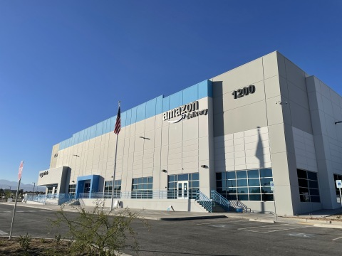 Amazon's North Las Vegas Delivery Station opened in September 2020. (Photo: Business Wire)