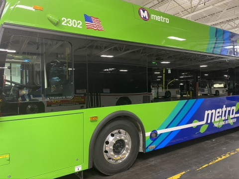 The Mobility House, with New Flyer, has delivered its comprehensive smart charging solution to the largest U.S. battery-electric bus fleet charging project for Metro Transit in the St. Louis region (4.35MW). (Photo: Business Wire)