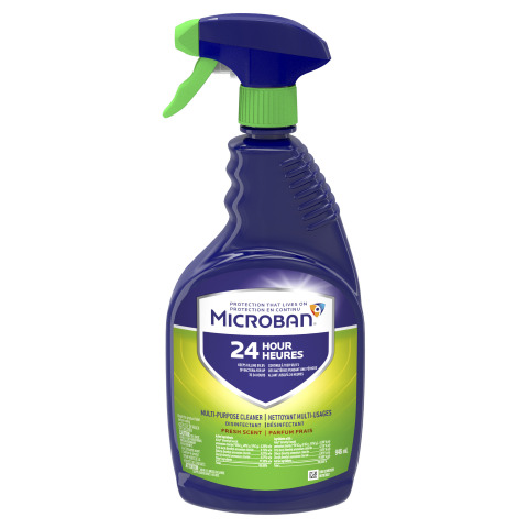 Microban 24 Multi-Purpose Cleaner is approved to kill SARS-CoV-2, the virus that causes COVID-19. (Photo: Microban 24)