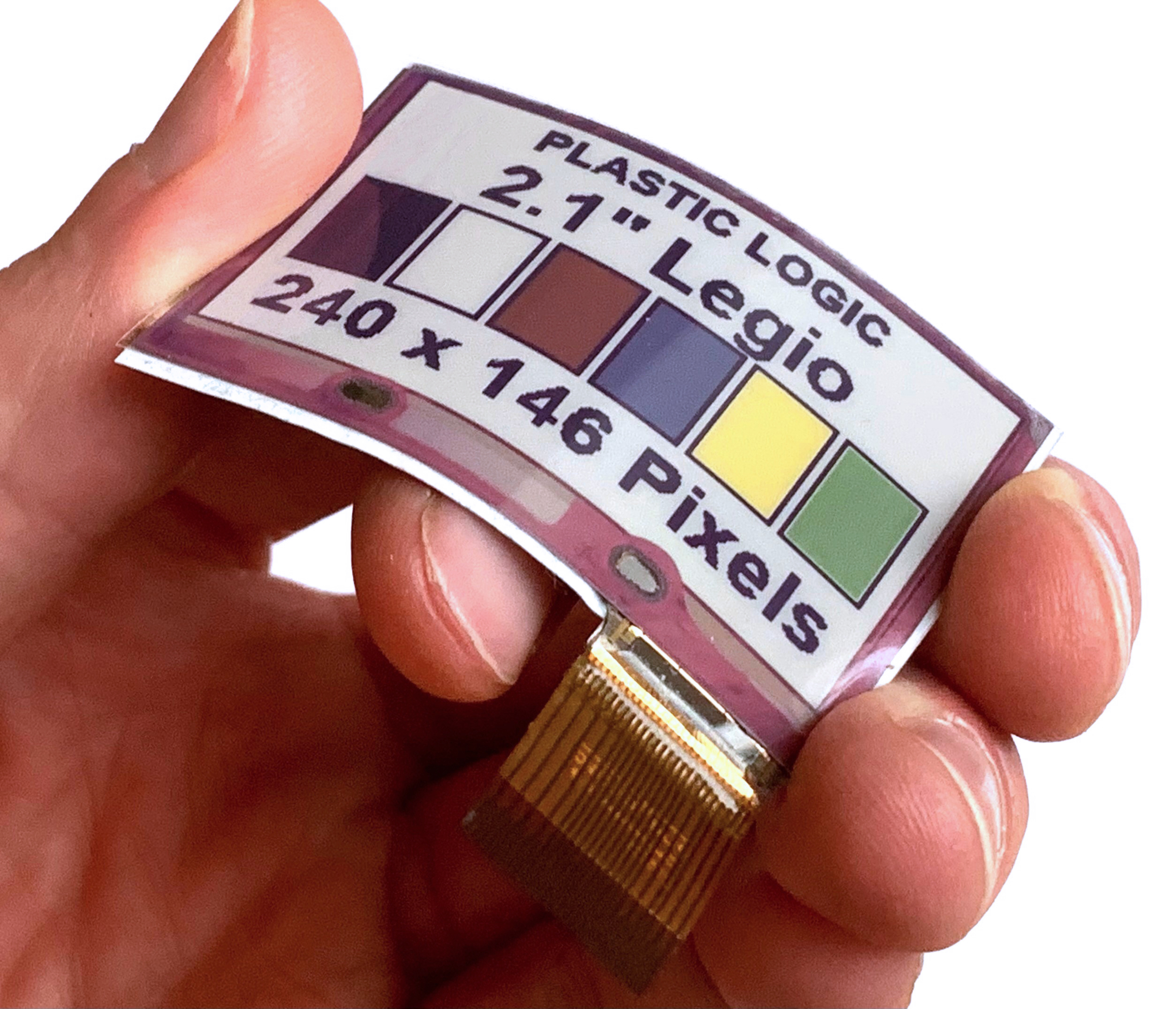 E Ink and Plastic Logic Partner to Provide the World's First Flexible  Advanced Color ePaper (ACeP™)-Based Display | Business Wire