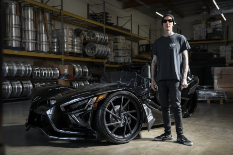 Travis Barker's Custom Slingshot Delivers 'Best of the Builders' Title to the West Coast (Photo: Business Wire)