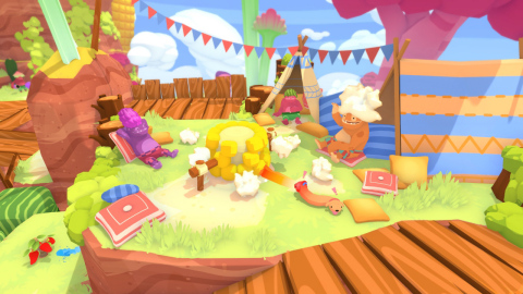 Play as a duo of dogs on a captivating, puzzle-filled adventure in PHOGS (Photo: Business Wire)