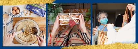 Fisher Nuts Inspires a New Way of Connecting this Holiday Season with Its #FisherTogether Pay-It-Forward Challenge (Photo: Business Wire)