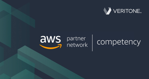 Veritone has achieved AWS Public Safety & Disaster Response (PSDR) Competency status, helping customers leverage the power of AI and AWS to foster transparency and protect the public. (Graphic: Business Wire)