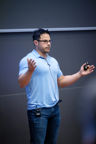 Dr. Justin Gottschlich is principal scientist and founder of Intel's Machine Programming Research team. The team's goal is to automate software development to reduce coding errors and address a shortage of trained expert programmers. (Credit: Intel Corporation)