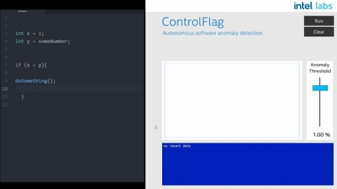 ControlFlag is a powerful tool that could dramatically reduce the time and money required to evaluate and debug code, a major industry pain point. ControlFlag was on display at Intel Labs Day 2020, which was presented virtually on Dec. 3, 2020. (Credit: Intel Corporation)