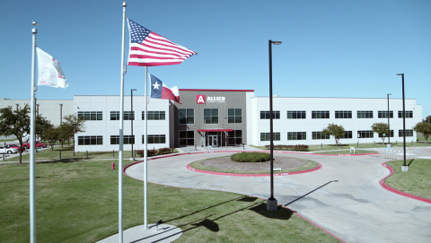 Allied Electronics & Automation Doubles Fort Worth Distribution Center Capacity with 200,000 Square-Foot Digitally Enabled Expansion (Photo: Business Wire)