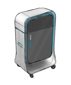 CerroZone™ mobile unit for indoor air purification (Graphic: Business Wire)