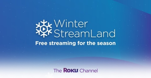 Winter StreamLand on The Roku Channel (Graphic: Business Wire)